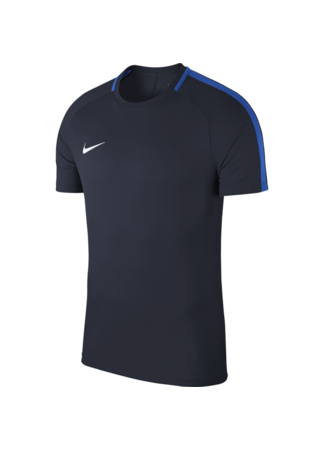 Nike Kids' Nike Dry Academy 18 Football Top (OBSIDIAN/ROYAL BLUE/WHITE)