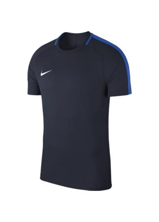 Nike Men's Nike Dry Academy 18 Football Top (OBSIDIAN/ROYAL BLUE/WHITE)