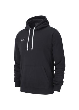 Nike M HOODIE PO FLC TM CLUB19 (BLACK/BLACK/WHITE/WHITE)