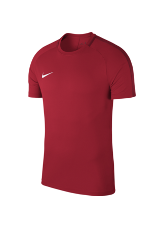 Nike Men's Nike Dry Academy 18 Football Top (UNIVERSITY RED/GYM RED/WHITE)