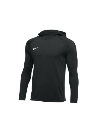 Nike Men's Nike Dry Academy Football Hoodie (BLACK/ANTHRACITE/ANTHRACITE/WHITE)