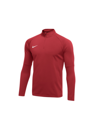 Nike Men's Nike Dry Academy 18 Drill Football Top (UNIVERSITY RED/GYM RED/WHITE)