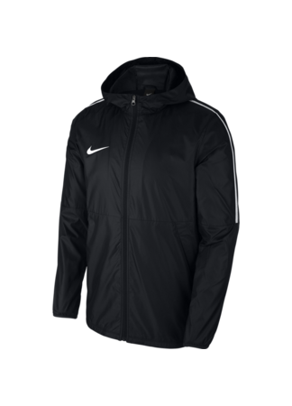 Nike Men's Nike Dry Park18 Football Jacket (BLACK/WHITE/WHITE)