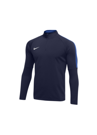 Nike Men's Nike Dry Academy 18 Drill Football Top (OBSIDIAN/ROYAL BLUE/WHITE)